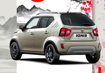 publication facebook de Suzuki France Automobiles modèle Ignis